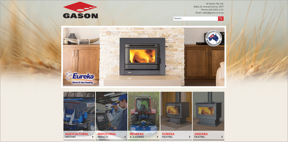 Gason Group Launch Website